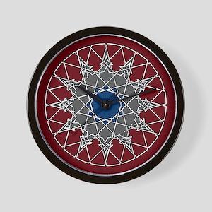 Arabesque Knotwork Wall Clock