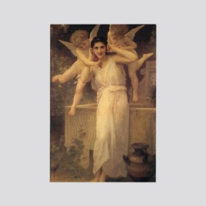 Jeunesse (Youth) by Bouguereau Rectangle Magnet (1