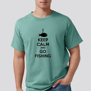 Keep calm and go fishing White T-Shirt