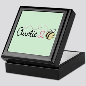 Auntie To Bee Keepsake Box