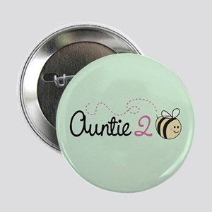 """Auntie To Bee 2.25"""" Button"""