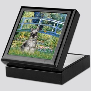 Bridge / Miniature Schnauzer Keepsake Box