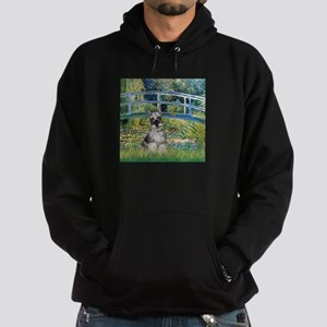 Bridge / Miniature Schnauzer Hoodie (dark)