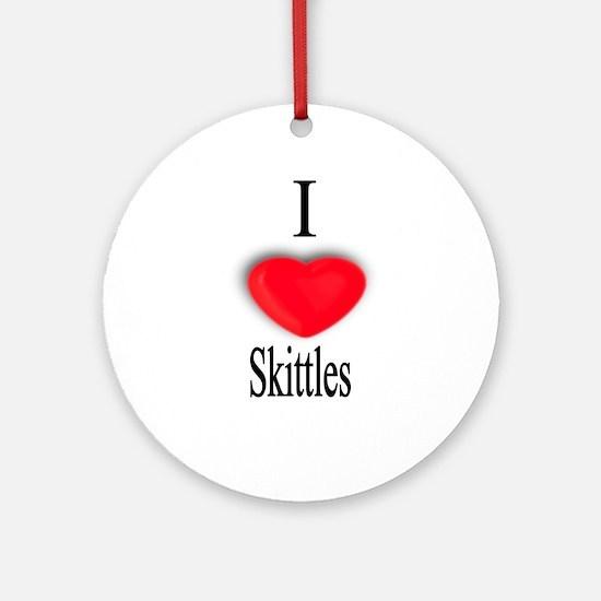 Skittles Ornament (Round)