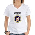 NAVSECGRUDET CHITOSE Women's V-Neck T-Shirt