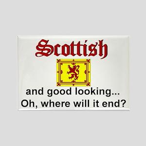 Good Looking Scottish Magnet (3x2)