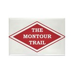 Montour Trail Rectangle Magnet