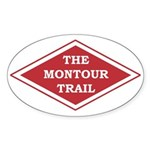 Montour Trail Oval Sticker