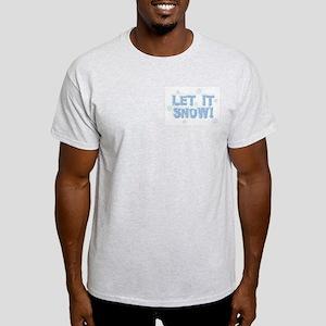 LET IT SNOW! Ash Grey T-Shirt