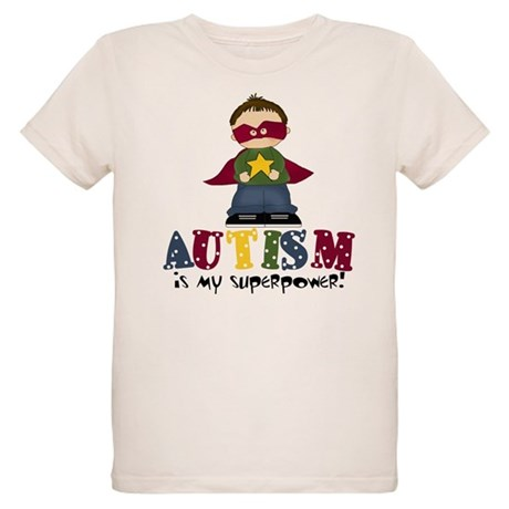 Autism is my Superpower Organic Kids T-Shirt