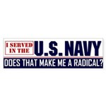 NAVY Bumper Sticker (50 pk)