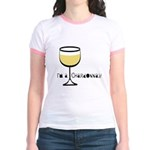 Chardonnay Drinker Jr. Ringer T-Shirt
