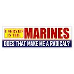 Marines Bumper Sticker
