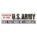 Army Bumper Sticker (10 pk)