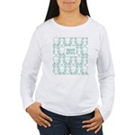 S&O Green Egg & Dart Logo Women's Long Sleeve T-Sh