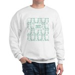 S&O Green Egg & Dart Logo Sweatshirt