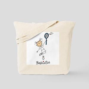 Girl's Badminton Tote Bag