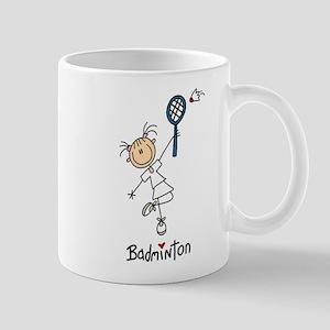 Girl's Badminton Mug