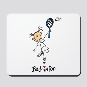 Girl's Badminton Mousepad