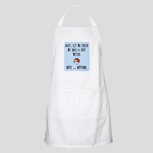 Give-a-shit meter BBQ Apron