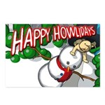 Happy Howlidays Postcards (Package of 8)