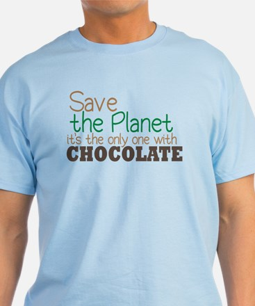 Only Planet with Chocolate T-Shirt