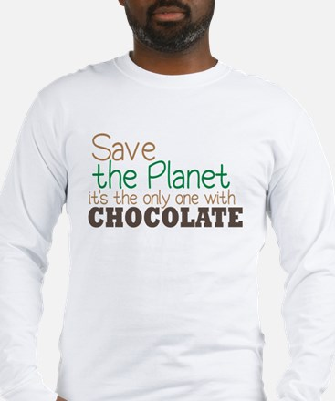Only Planet with Chocolate Long Sleeve T-Shirt