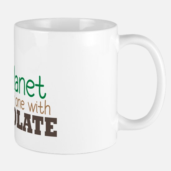 Only Planet with Chocolate Mug