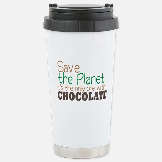 Only Planet with Chocolate Stainless Steel Travel