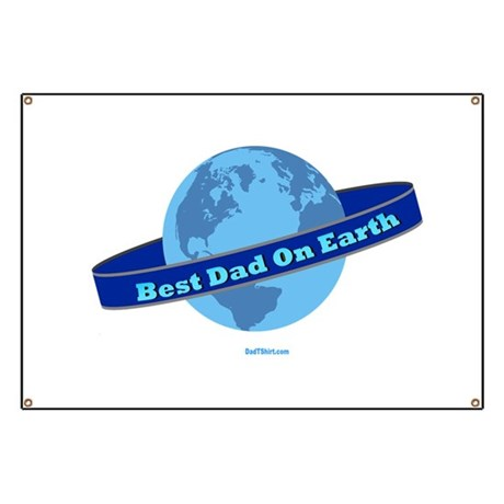 BEST DAD ON EARTH Banner