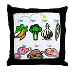 Yes Yes No Throw Pillow