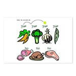 Yes Yes No Postcards (Package of 8)