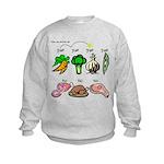 Yes Yes No Kids Sweatshirt