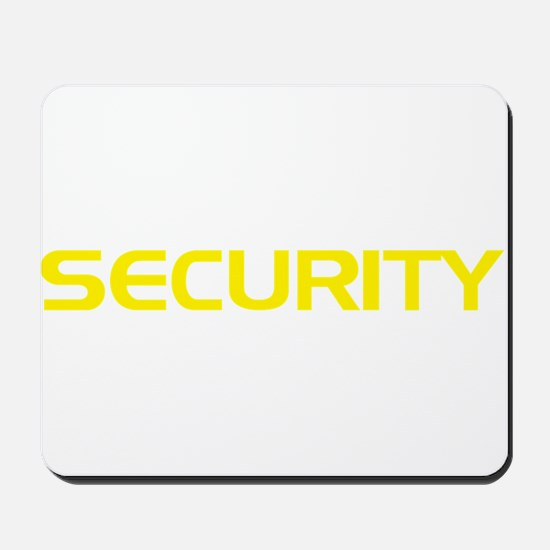Security Mousepad