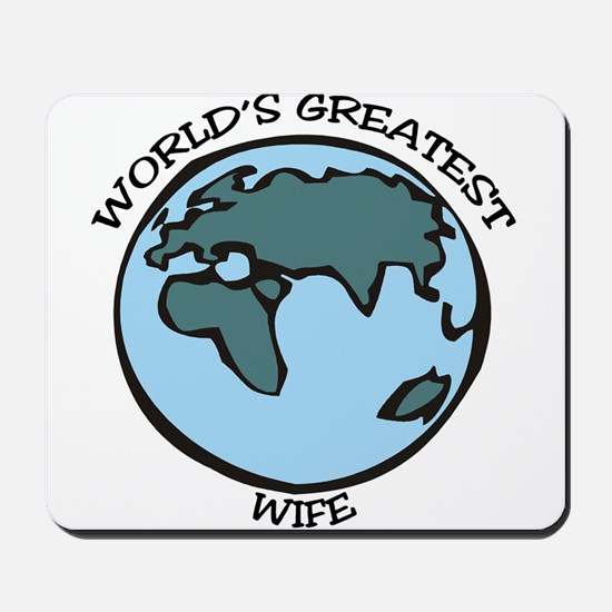 Greatest Wife Mousepad