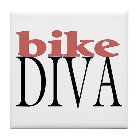 Bike Diva Tile Coaster
