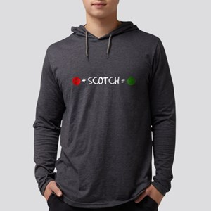 Plus Scotch Equals Happy Long Sleeve T-Shirt