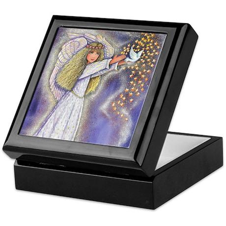 Wishing Angel Keepsake Box