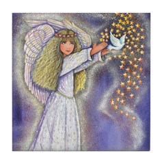 Wishing Angel Tile Coaster