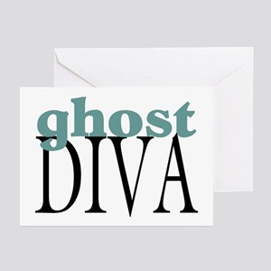 Ghost Diva Greeting Cards (Pk of 10)
