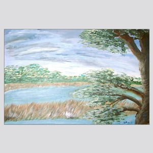 """""""View from a Florida Hammock Large Poster"""