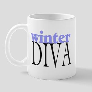 Winter Diva Mug