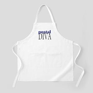 Postal Diva BBQ Apron