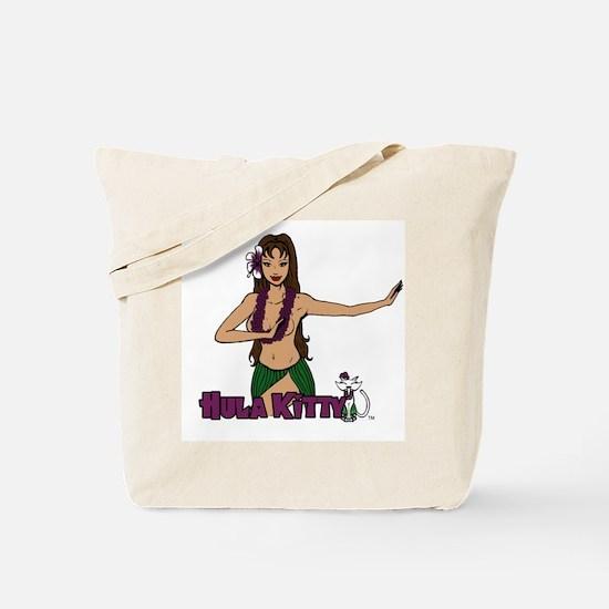 Hula Girl Tote Bag