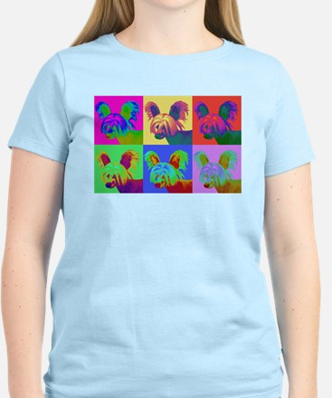 Op Art Crestie Women's Light T-Shirt