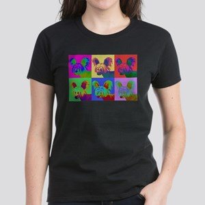 Op Art Crestie Women's Dark T-Shirt