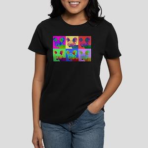 Op Art Crestie Women's Dark T-Shirt