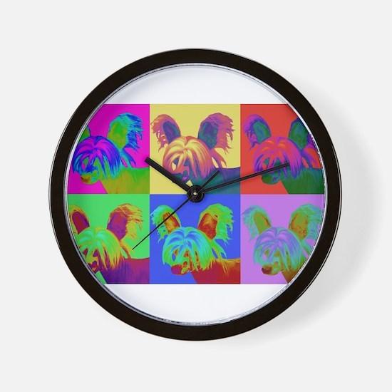 Op Art Crestie Wall Clock