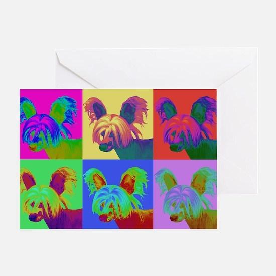 Op Art Crestie Greeting Card