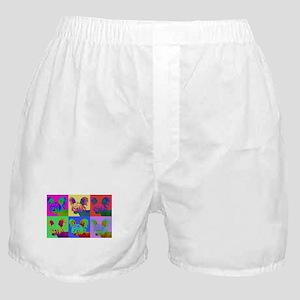Op Art Crestie Boxer Shorts